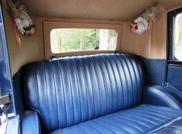Vintage Austin for weddings in Dudley